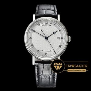 Breguet Classique Series Çelik Kasa Beyaz Kadran ETA