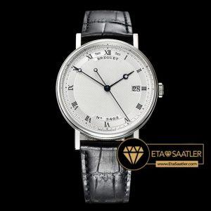 Breguet Classique Series Çelik Kasa Damalı Beyaz Kadran ETA