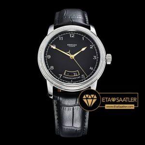 Parmigiani Fleurier Toric Chronometre Çelik Kasa Siyah Kadran ETA