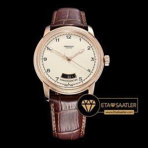Parmigiani Fleurier Toric Chronometre Pembe Altın Kasa Krem Kadran ETA