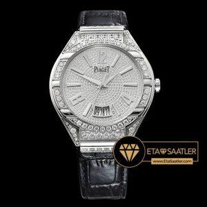 Piaget Piaget Polo Diamonds Taşlı Çelik Kasa Beyaz Kadran ETA