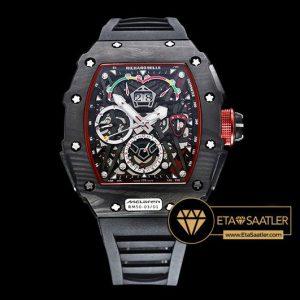 Richard Mille Chronograph RM050-03 Mclaren Limited Karbon Kasa Siyah Kordon ETA