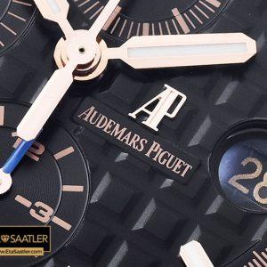 Audemars Piguet Royal Oak Offshore Chronograph Novelty Titanyum Kasa Seramik Bezel Siyah Kadran ETA