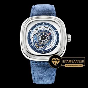 SevenFriday SevenFriday P03/06 Yacht Club Off-Series Limited Edition Mavi ETA