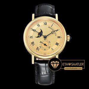 Breguet Classique MoonPhase 3300 Sarı Altın Kasa Altın Kadran ETA