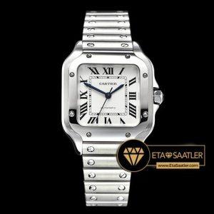 Cartier Santos De Cartier Midsize 2018 XL Çelik Kordon ETA