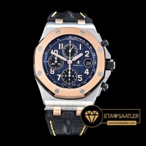 Ap0389 Royal Oak Offshore Rose Bez Rgss Blue Jf A3126 Mod Ap0389 7