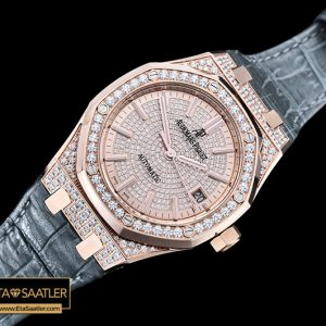 Ap0410 Royal Oak Ref.15450 37mm Diams Rgle Gold Jf Mod A3120 Ap0410 4