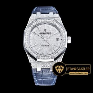 Ap0411 Royal Oak Ref.15450 37mm Diams Ssle White Jf Mod A3120 Ap0411 5