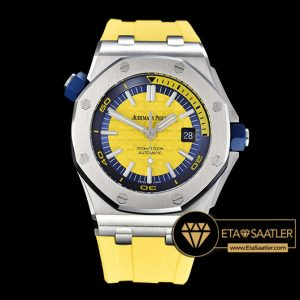 Ap0413a Royal Oak Diver Ssru Yellow Jf My9015 Mod A3120 Ap0413a 5