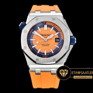 Ap0413c Royal Oak Diver Ssru Orange Jf My9015 Mod A3120 Ap0413c 5