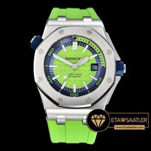 Ap0413d Royal Oak Diver Ssru Green Jf My9015 Mod A3120 Ap0413d 5