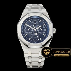 Ap0488 Royal Oak Perpetual Calendar 26574 Ssss Blue Jf A5134 Ap0488 6
