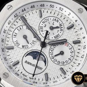Ap0496 Royal Oak Perpetual Calendar 26574 Ssss White Jf A5134 Ap0496 3