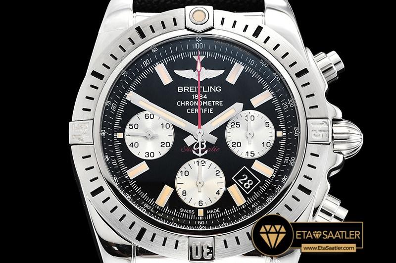 Bsw0387b Chronomat Airborne 44 B01 Ssny Black Asia 7750 07 07