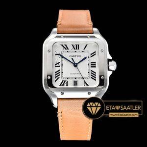 Cartier Santos De Cartier Men 2018 XL Taba Kordon ETA