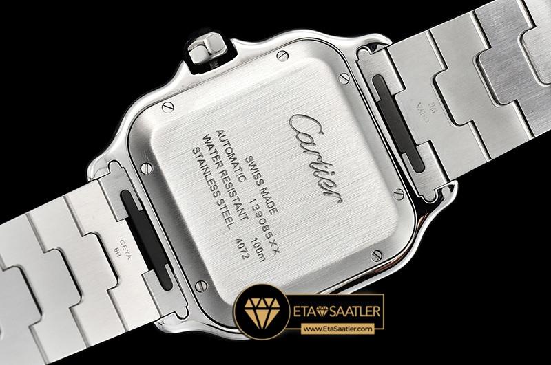Cartier Santos De Cartier Men 2018 XL Çelik Kordon Mavi Kadran ETA