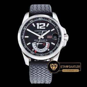 Chopard Mille Migla GranTurismo XL Çelik Kasa Siyah-Beyaz Kadran Clone ETA