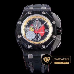 Audemars Piguet Royal Oak Offshore Chronograph Grand Prix Karbon Kasa Kırmızı Kadran ETA