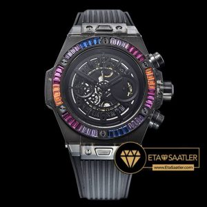 Hublot Big Bang Unico Sapphire Special Edition 45mm Rainbow Black Clone ETA