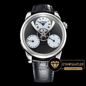 MB&F Legacy Machine Split Escapement Siyah Kadran ETA