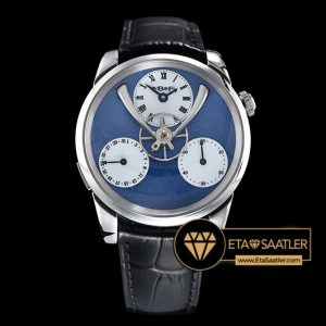 MB&F Legacy Machine Split Escapement Mavi Kadran ETA