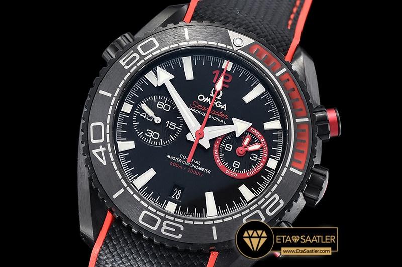 Omega Planet Ocean Limited Edition Volvo Ocean Race Seramik Bezel DLC Kaplama ETA