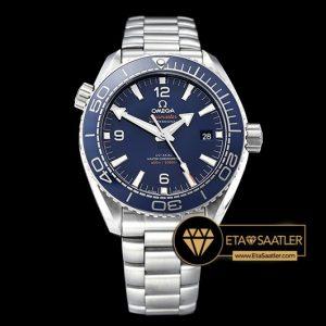 Omega Planet Ocean 43.5mm VSF Mavi Bezel Mavi Kadran V2 Versiyon Clone ETA