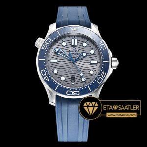 Omega Seamaster 300m Basel 2018 Gri Kadran Mavi Bezel 8800 Clone ETA