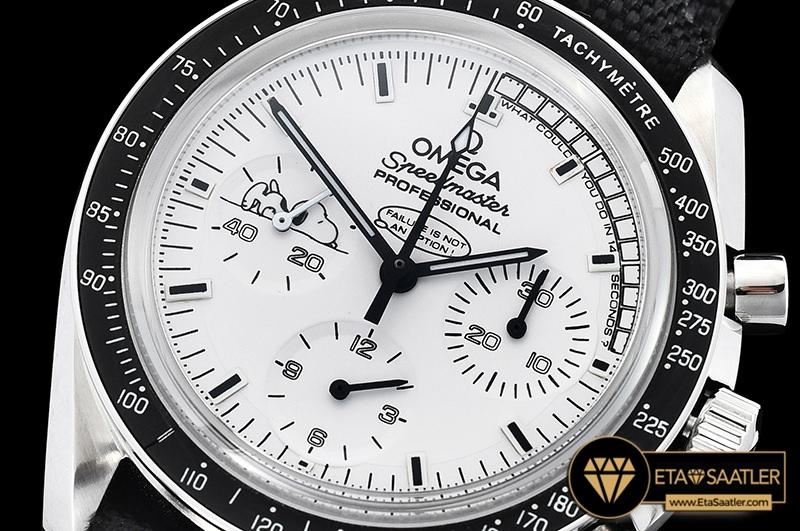 Omg0596a Speedmaster Snoopy Ltd Ed Ssny White Omf V2 Venus 75 04 04