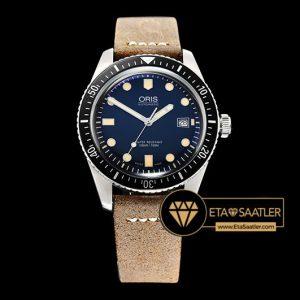 Oris Divers 7720 Serisi Çelik Kasa Mavi Kadran A2836 Clone ETA