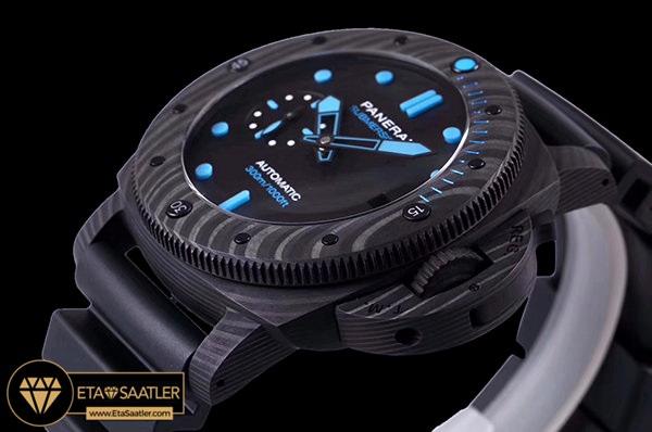 Panerai Luminor Submersible CarboTech PAM1616 Karbon Kasa Mavi İndeksli Kadran ETA