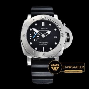 Panerai Luminor Submersible Acciaio PAM682 Çelik Kasa Siyah Kadran ETA