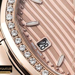 Pp0272a Patek Nautilus 33mm Diam Rgrg Rose Gold Pf Miyota 9015 Pp0272a 2