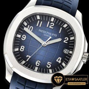 Pp0288 Aquanaut Ref.5168 42mm Ssru Bluenum Pf Asia 2824 Mod Pp0288