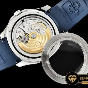 Pp0288 Aquanaut Ref.5168 42mm Ssru Bluenum Pf Asia 2824 Mod Pp0288 11