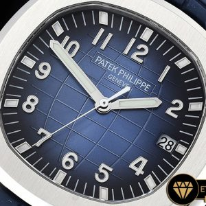 Pp0288 Aquanaut Ref.5168 42mm Ssru Bluenum Pf Asia 2824 Mod Pp0288 3