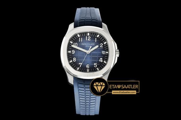Pp0288 Aquanaut Ref.5168 42mm Ssru Bluenum Pf Asia 2824 Mod Pp0288 5