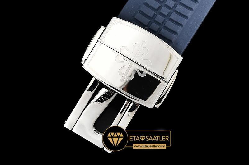 Pp0288 Aquanaut Ref.5168 42mm Ssru Bluenum Pf Asia 2824 Mod Pp0288 9