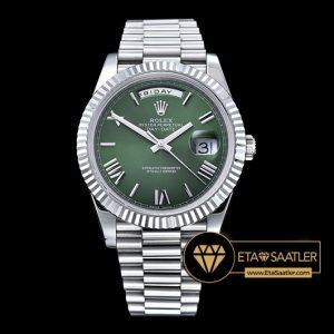 Rolex Day Date 228239 Yeşil Kadran 1:1 Super Clone ETA