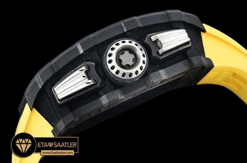 Rm0171h Rm011 03 Flyback Chrono Fcru (yellow) Kvf A7750 Mod 07 07