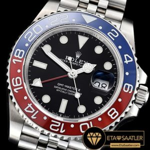 Rolgmt147b Gmt Master Ii 126710 Pepsi 904l Ssss Blk Gmf A2836 01 01