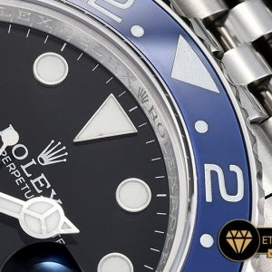 Rolgmt147b Gmt Master Ii 126710 Pepsi 904l Ssss Blk Gmf A2836 02 02