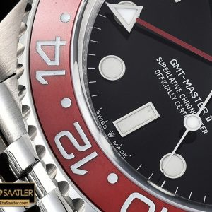 Rolgmt147b Gmt Master Ii 126710 Pepsi 904l Ssss Blk Gmf A2836 03 03