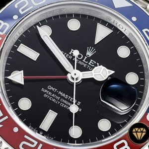 Rolgmt147b Gmt Master Ii 126710 Pepsi 904l Ssss Blk Gmf A2836 05 05