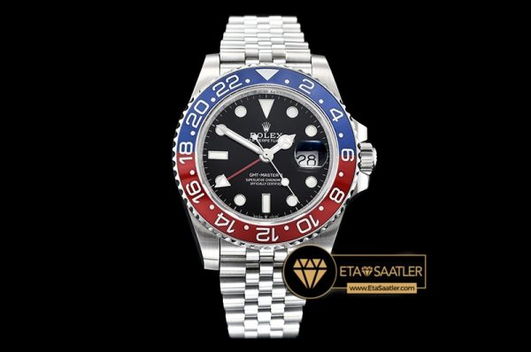 Rolgmt147b Gmt Master Ii 126710 Pepsi 904l Ssss Blk Gmf A2836 08 08