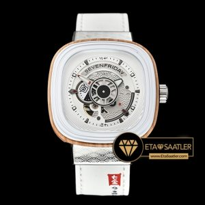 SevenFriday P1B/03 Japan Inspired Limited Edition Beyaz ETA