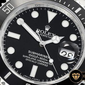 Rolex Submariner 116610LN 904L Siyah Kadran V9 1:1 3135 Super Clone ETA