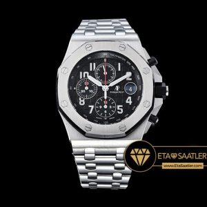 AP0374B - AP Royal Oak Chrono 26470 SSSS Black A3126 - Noob - 14.jpg