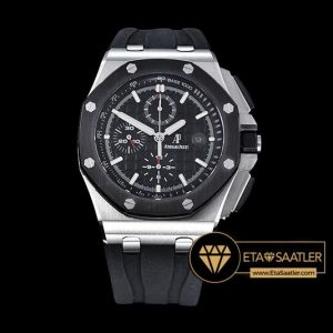AP0375D - AP Royal Oak Chrono SSRU Black JHF A3126 Secs@9 - 14.jpg